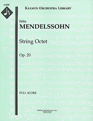 String Octet, Op.20: Full Score [A1050]