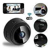 Womdee Mini WiFi Camera, Magnetic Wireless Spy Hidden HD 1080P Camera, Indoor Home