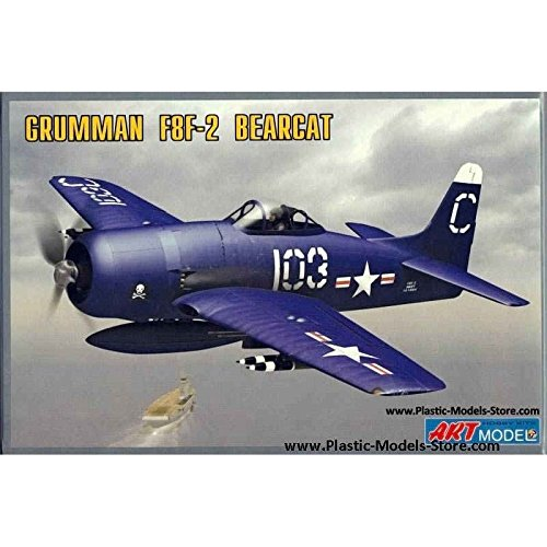 Used, PLASTIC MODEL BUILDING AIRPLANE AIRCRAFT GRUMMAN F8F-2 for sale  Delivered anywhere in USA