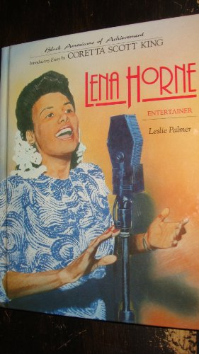 Books : Lena Horne: Entertainer (Black Americans of Achievement)