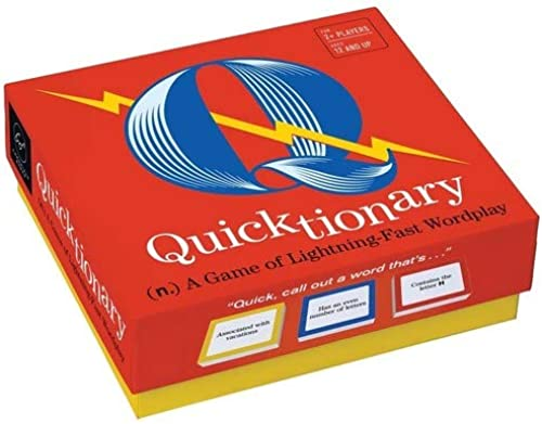 Quicktionary: A Game of Lightning fast Wordplay