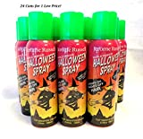 Jerome Russell Temporary Hair Color Spray - Shampoos Out - 24 Cans for 1 Low Price (Green)
