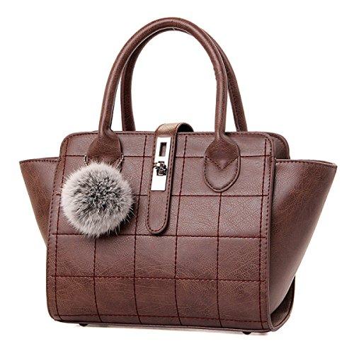 Bolso De Hombro Retro De La Moda Del Bolso Del Bolso De La Moda De Los Bolsos,Brown Brown