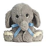 Lil Benny Phant Ellas Bundle of Joy Plush - Grey Elephant with Blue Ribbon