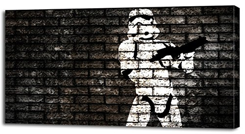 STORMTROOPER STAR WARS CANVAS PRINT Home Wall Decor Art Movie Painting P072, Large