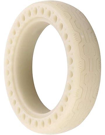 Nishci Neumático eléctrico para Scooter: neumático Tipo Panal de 8,5 Pulgadas con Parte