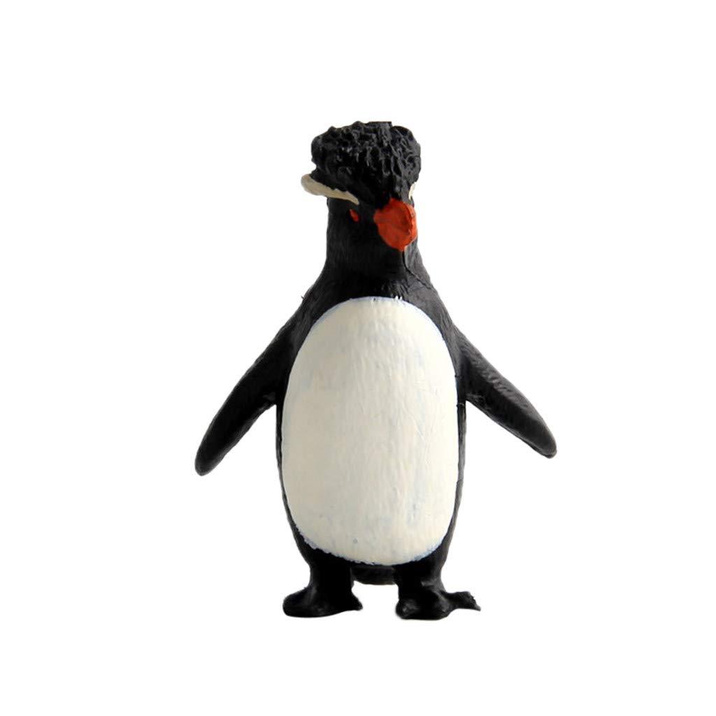 FORESTIME Educational Simulated Penguin Model Kids Children Toy Penguin Gift (C, 4.5x7.5x3.5cm)