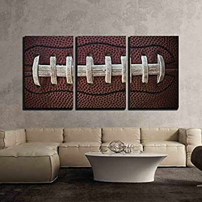 American Football Laces - Canvas Art Wall Art - 24