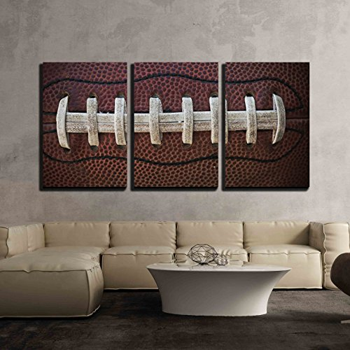 wall26 - American Football Laces - Canvas Art Wall Decor - 16