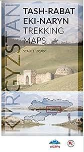 Tash-Rabat - Eki-Naryn Trekking Maps - 2018 edition