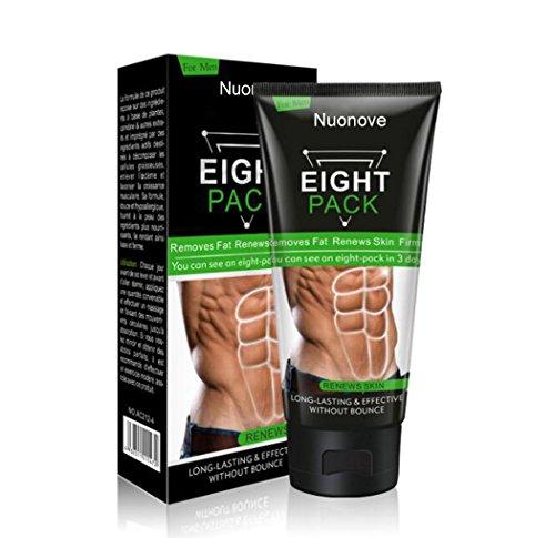 Abdominal Cream, Men Women Abdominal Muscle Cream, Anti Cellulite Slimming Fat Burning Cream, Firming Increases Muscle Strength & Fat Burning, 170g