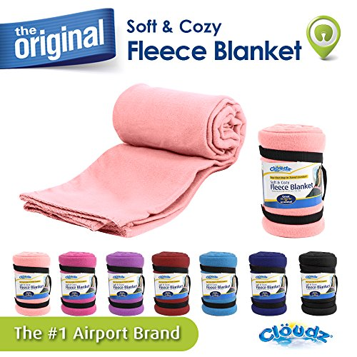 Cloudz BLK 937020 CAT Fleece Blanket Pink product image