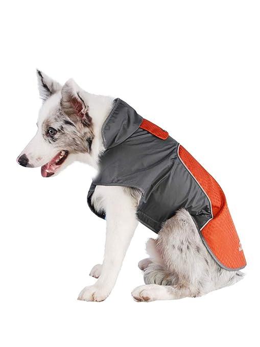 LXLLXL Perro Al Aire Libre Impermeable Mascotas Ropa De ...