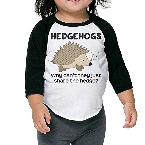 SH-rong Why Cant Hedgehogs Share The Hedge Toddler Baseball T-shirt Size5-6 - Sunglasses The Hedgehog Sonic