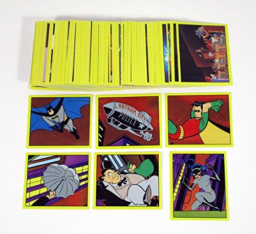 Animated Batman Series Panini Album Sticker Set 216 Stickers 1993