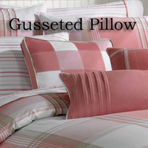 Nautica Port Hope Square Gusseted Decorator Pillow Pink16X16X1.5 Dec Pillow ()