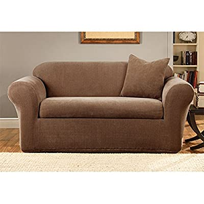 Sure Fit Stretch Metro 2-Piece Loveseat Slipcover