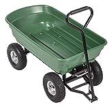 Heavy Duty Poly Garden Utility Yard Dump Cart Wheel Barrow Garden Cart For Sale