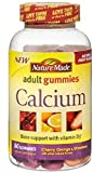 Nature Made Calcium Adult Gummies, Cherry, Orange & Strawberry 80 ea (Pack of 2) Review