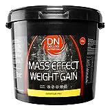Deluxe Mass Effect Weight Gainer 4kg Chocolate Whey Protein Casein Glutamine by Deluxe Nutrition