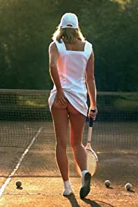 Tennis Girl (Sexy Photo) Poster - 24x36