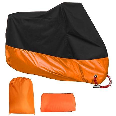 Amazon.com: Acelane cubierta para motocicleta, resistente al ...