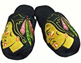 Chicago Blackhawks 2010 Official NHL Big Logo Hard Sole Plush Slippers Size Medium
