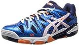 ASICS Men's GEL-Sensei 5 Blue/White/Orange Sneaker 8 D - Medium