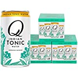 Q Drinks, Q Indian Tonic, Spectacular Indian Tonic, Premium Mixer, 7.5 Ounce Slim Can (Pack of 12)
