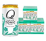 tonic water cans - Q Drinks, Q Indian Tonic, Spectacular Indian Tonic, Premium Mixer, 7.5 Ounce Slim Can (Pack of 12)