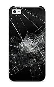 EuniceSchwab Scratch-free Phone Case For Iphone 5c- Retail Packaging - Glass
