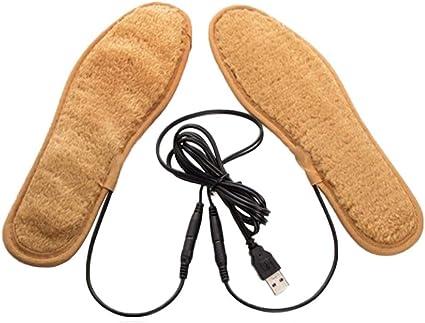 Contr/ôle Arbitraire /à 40-65 ℃(Peut /être coup/é) Semelle Chauffante USB Semelle Chauffante /Électrique Rechargeable /À Batterie au Lithium Semelle Chauffante Rechargeable avec Chauffe-pied /À Distance
