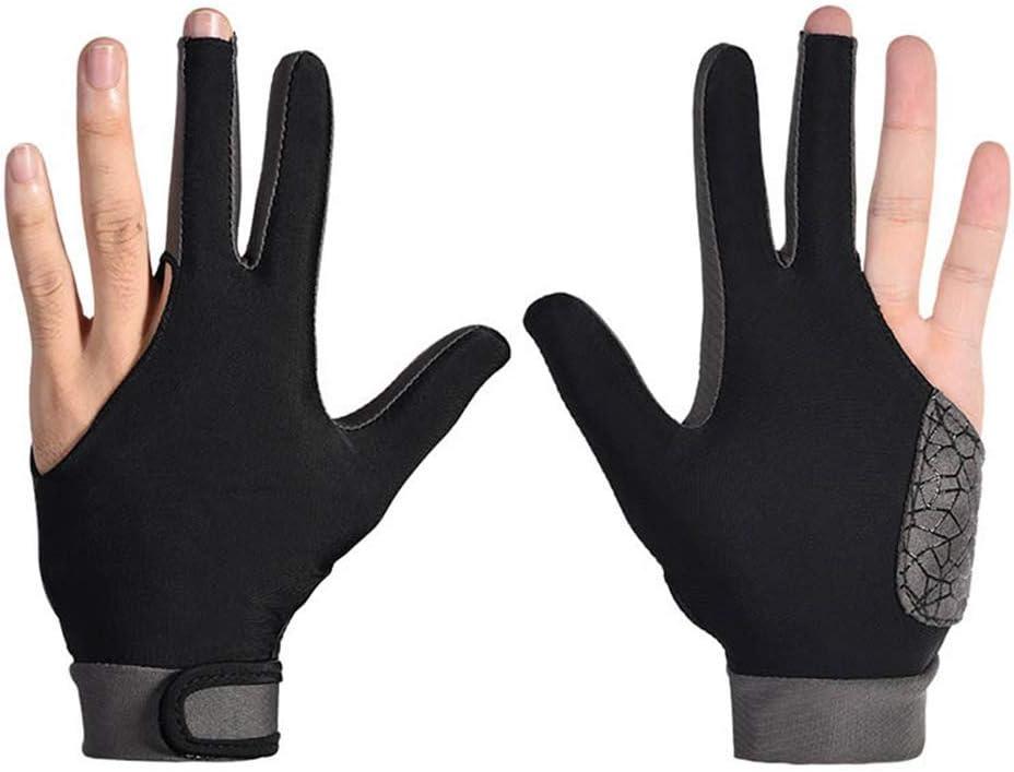Juntful Hombre Mujer Elástico Lycra 3 Dedos Mostrar Guantes para ...