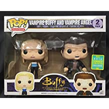 Funko - Figurine Buffy Contre les Vampires - 2-Pack Angel & Buffy Vampire Exclu Pop 10cm - 0849803095352