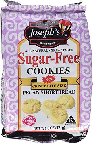 Joseph's Sugar Free Pecan Shortbread