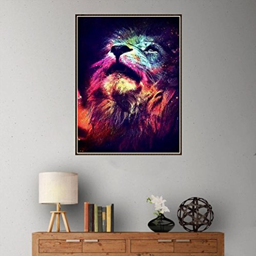 Diamond Painting Kits for Adults,DIY 5D-Lion-Diamond Painting Kits for Adults Full Drill,Cross Stitch Patterns Embroidery Kits Making Art Surplies Wall Decor Decorations for Living Room