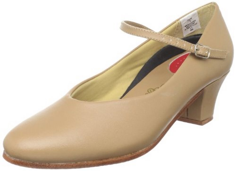 Dance Class Women's C501M Character Shoe,Caramel,5 M US