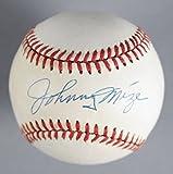 Johnny Mize New York Yankees Signed Baseball - COA JSA