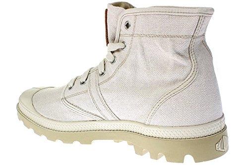 Palladium PALLABROUSE LC - botas desert de lona hombre Blanco