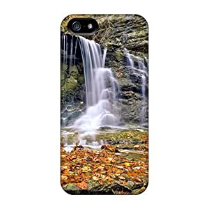 FFuhBTv7492EPdMB Case Cover, Fashionable Iphone 5/5s Case - Waterfalls In Autumn