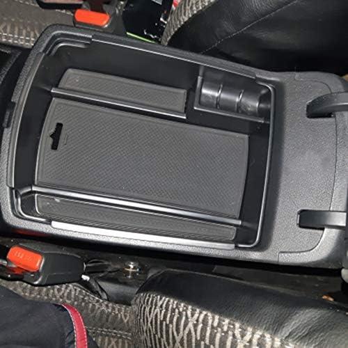 KAPAYONO para Sportage QL 2016 2017 2018 Control de Consola Central Reposabrazos Caja de Almacenamiento Bin Organizador Bandeja Soporte de Paleta Accesorios para Coche