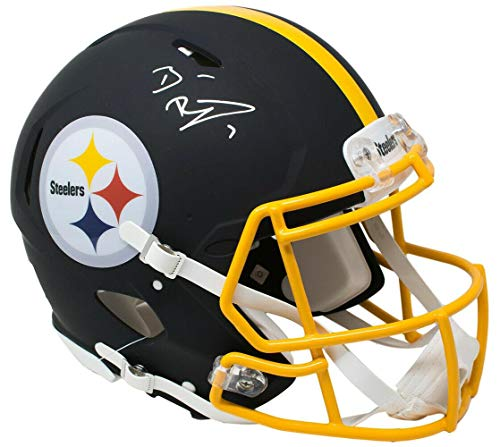 0599d938bdb Pittsburgh Steelers memorabilia. Signed Ben Roethlisberger Helmet - Full  Size Speed Authentic Matte Black BAS FAN - Fanatics Authentic Certified