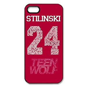 Teen Wolf Stilinski 24 For SamSung Galaxy S5 Phone Case Cover Full protection pragmatic Cover Case