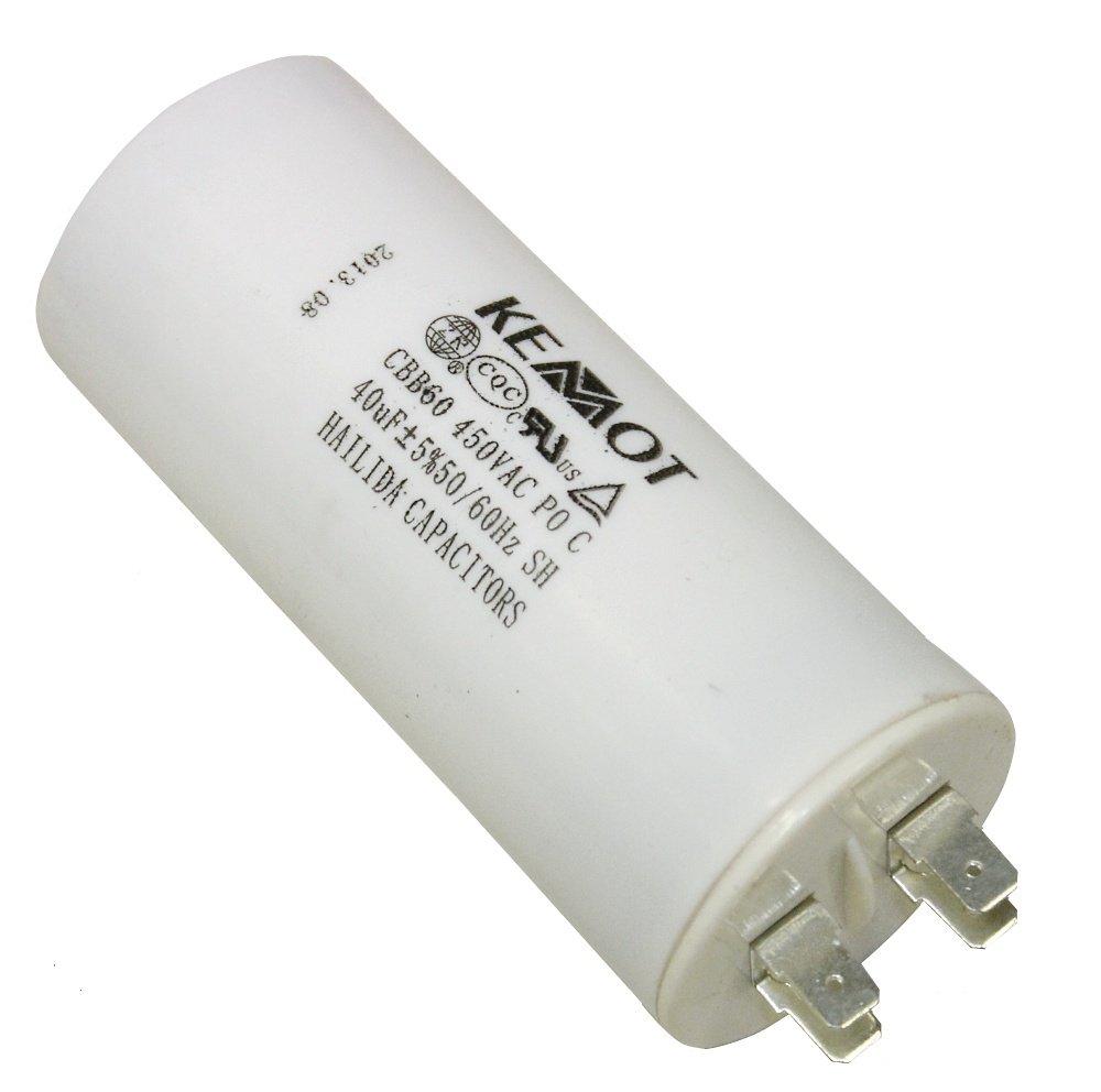 Aerzetix - Kondensator 40µ F 450V 3800946249160