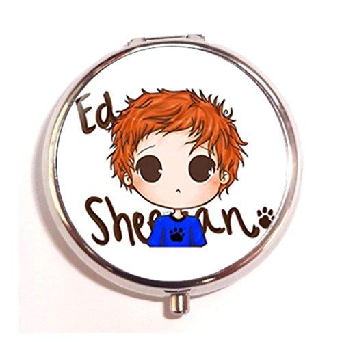 Price comparison product image 7 Ed Sheeran Custom Classic Round Pill Box Pill Case Medicine Organizers or Purse by Friending Design