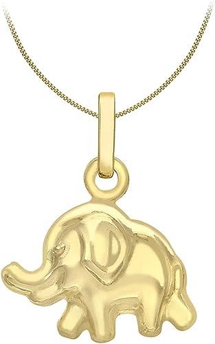 Carissima Gold Cadena Con Colgante De Mujer Con Oro Amarillo De 9 Quilates (375/1000), 46 Cm