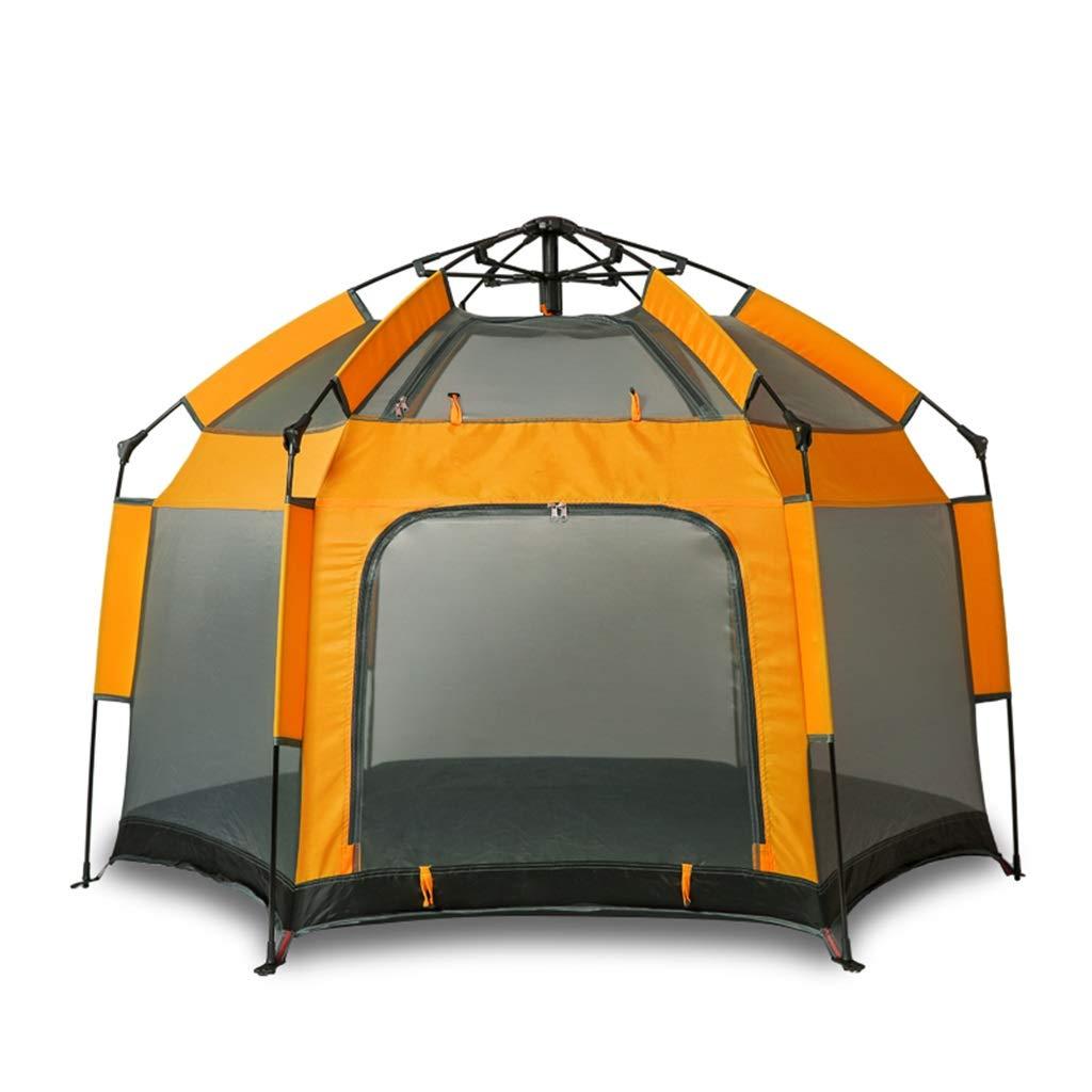 LYX Außenzelt Im Freien 3-4 Personen Vollautomatisches Zelt Kinderspiel Spiel Regendichte Schattenbelüftung Und Feuchtigkeitsdichtes Reiseatmungszelt Camping Reisen