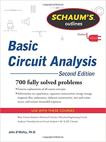 Schaums outline of basic circuit analysis second edition schaums schaums outline of basic circuit analysis second edition schaums outlines 2nd edition fandeluxe Gallery