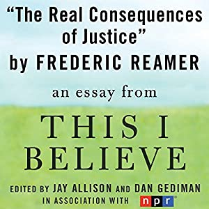 The Real Consequences of Justice Audiobook
