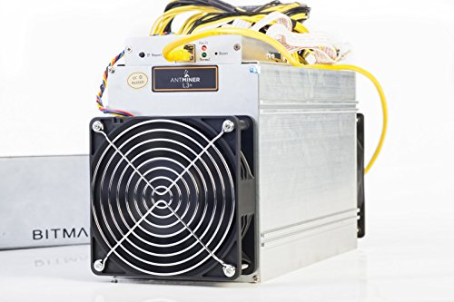 AntMiner L3+ ~504MH/s @ 1.6W/MH ASIC Litecoin Miner With Power Supply Included Ready To Ship Now by AntMiner (Image #1)